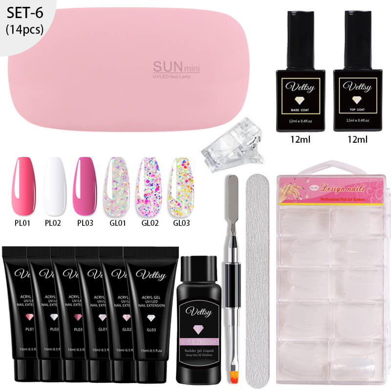 vettsy polygel nail extension polygel stater kit